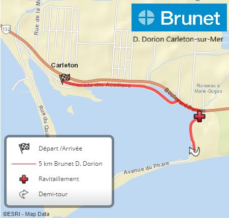 5 km Brunet